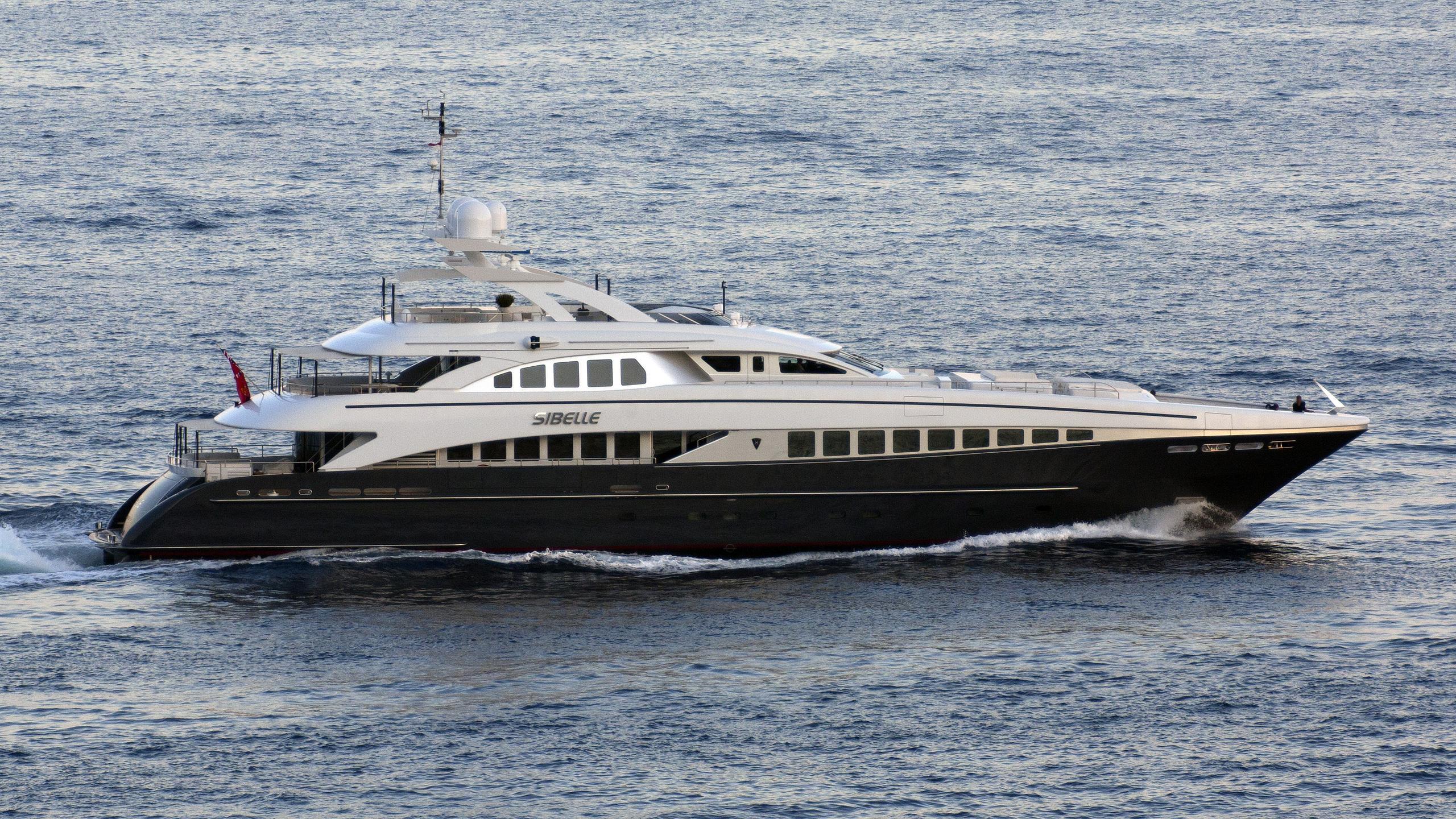 g3 sibelle motoryacht heesen yachts 44m 2008 cruising profile before refit