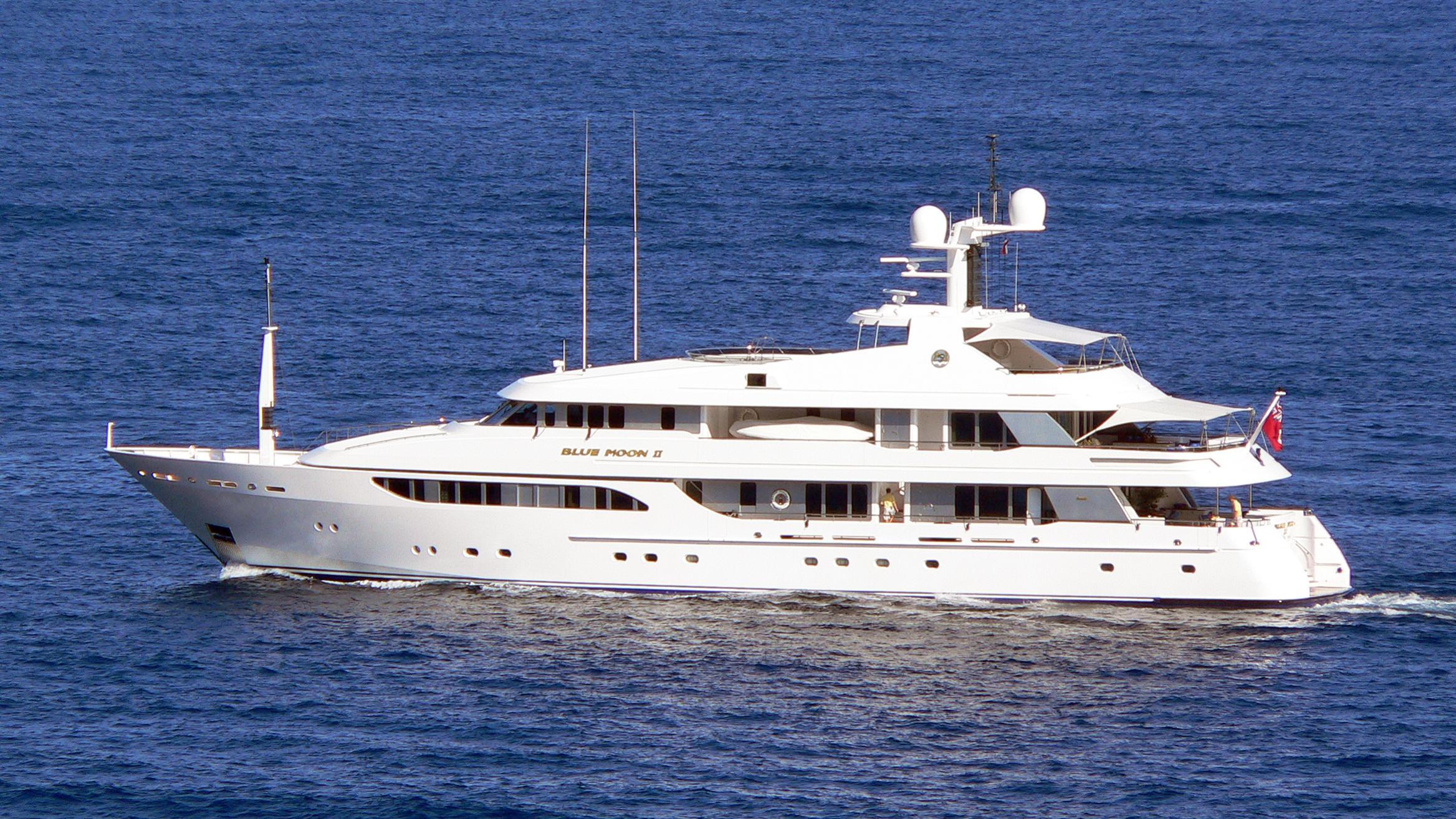 broadwater deja vu blue moon motoryacht feadship 50m 2000 profile