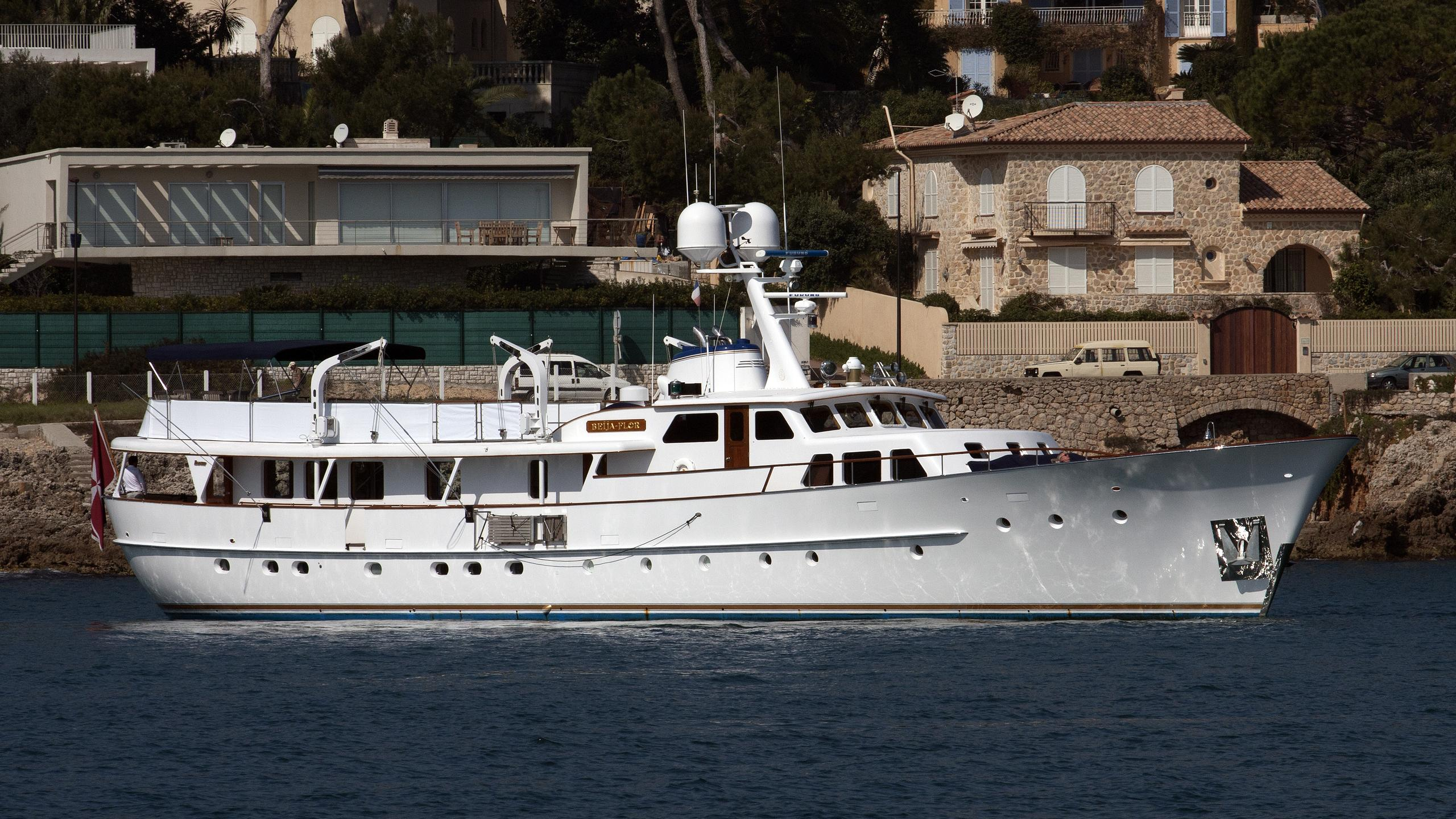 beija flor motoryacht feadship 1968 35m half profile