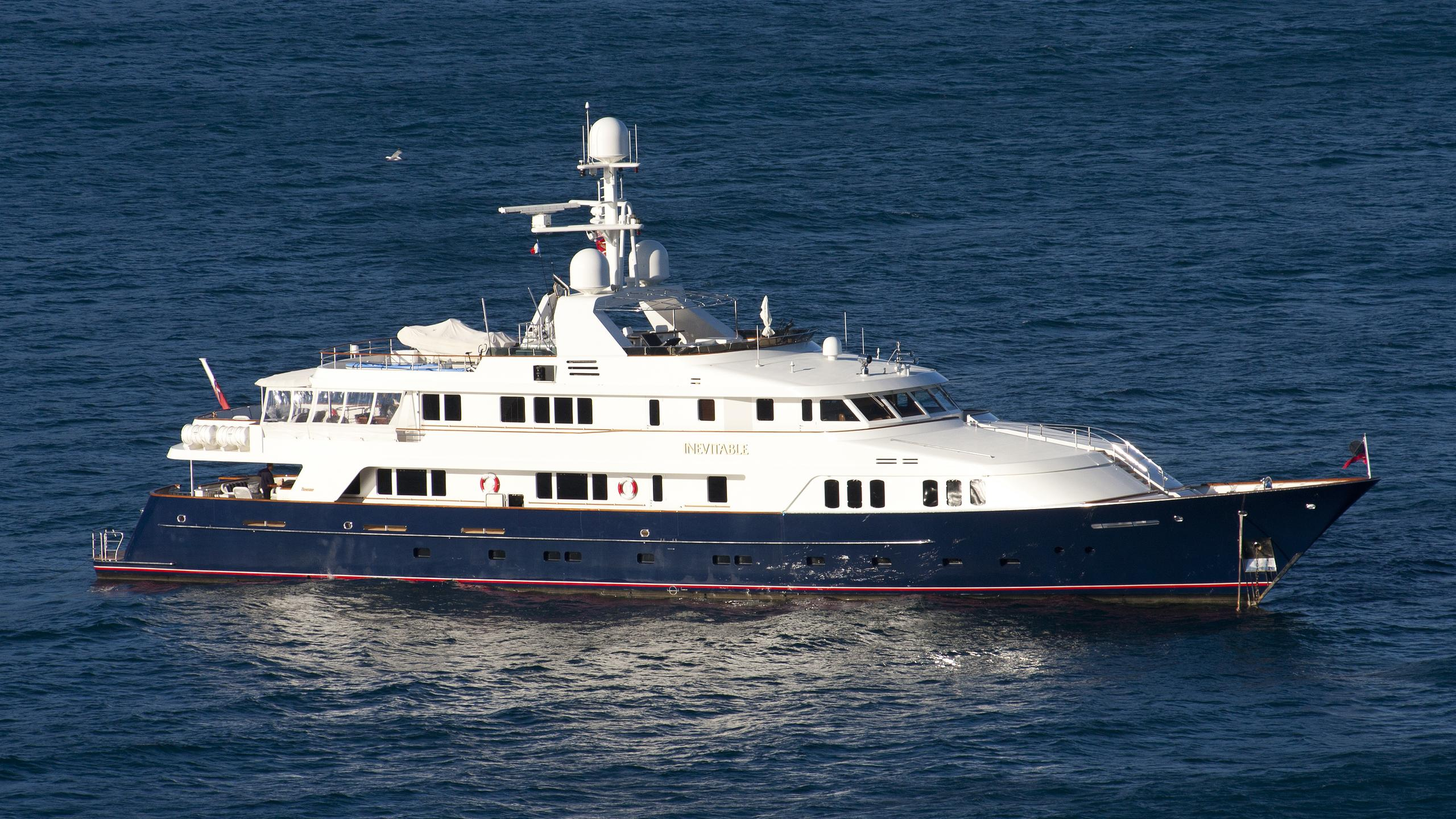 blue 470 broadwater motoryacht feadship 1990 50m half profile