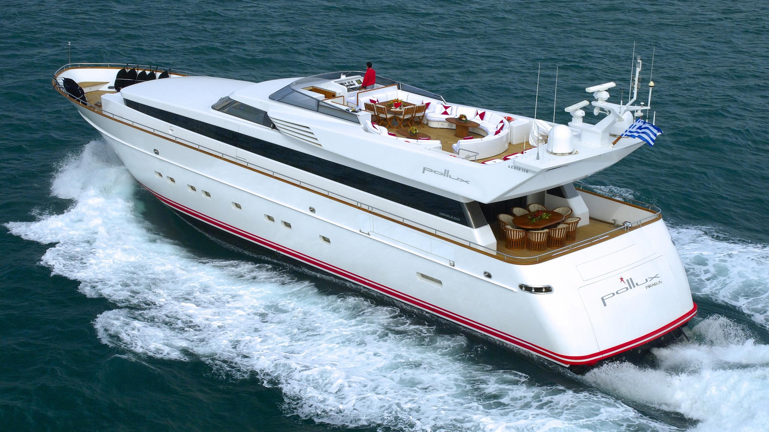 pollux-yacht-running