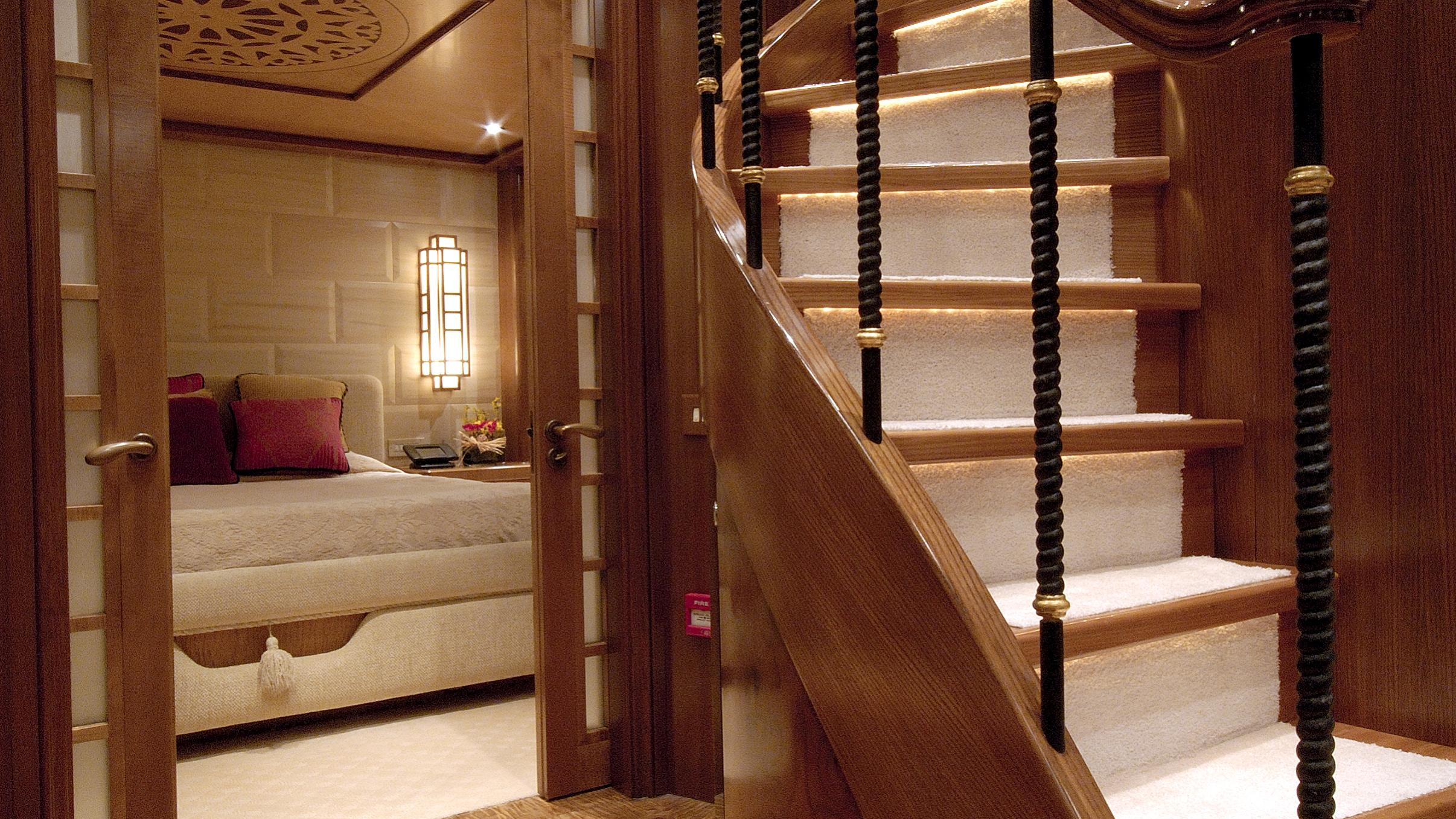 pollux-yacht-staircase