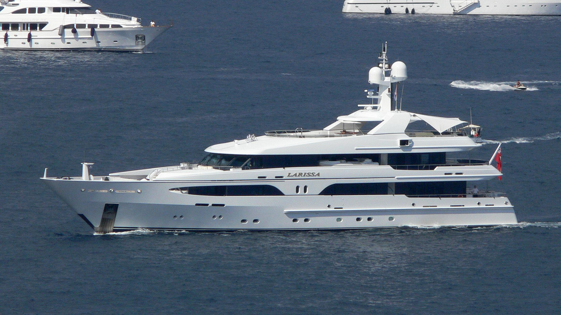 vibrance volpini motoryacht amels 49m 2004 profile