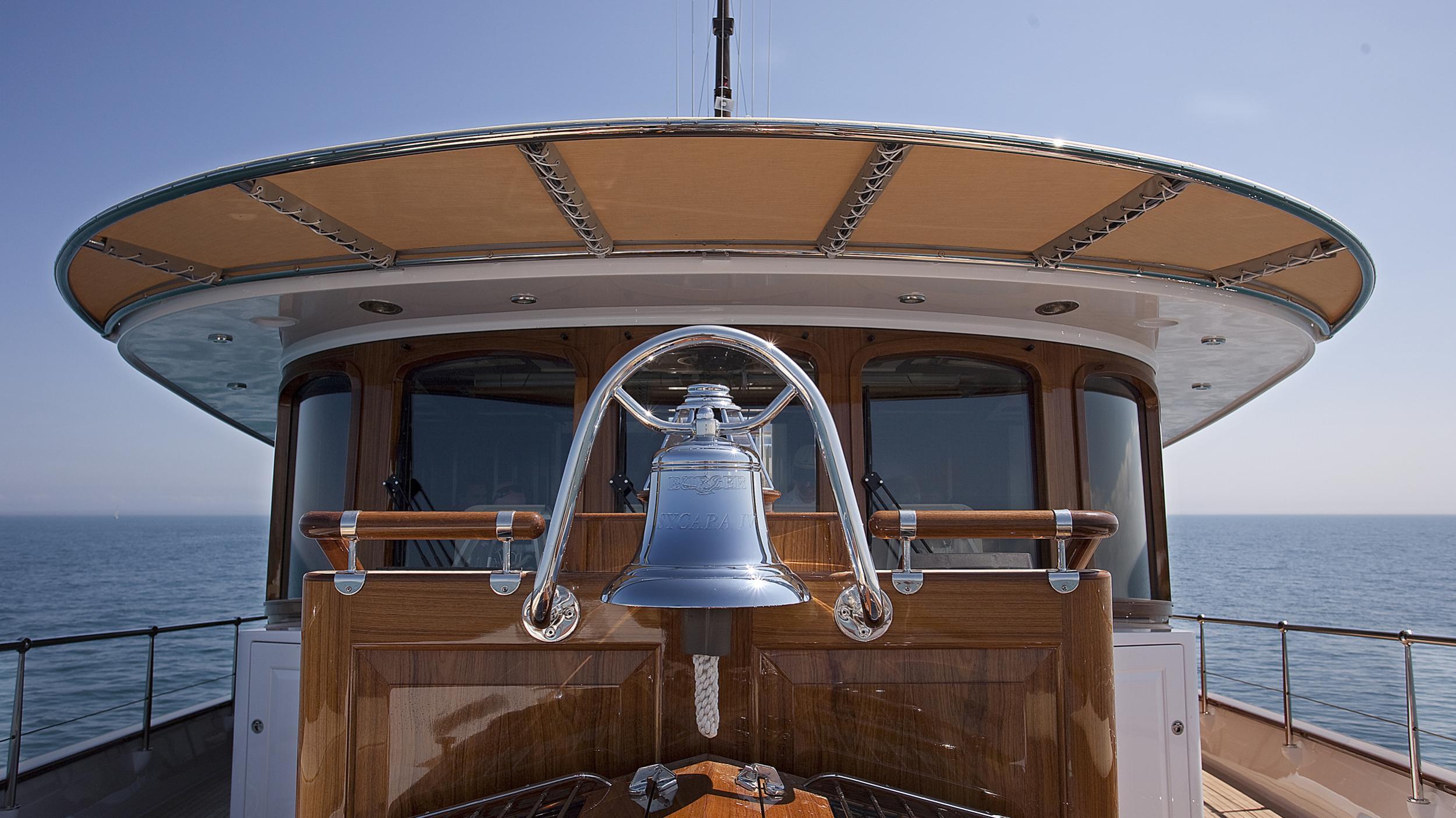nadan sycara iv motoryacht burger boat 46m 2009 wheelhouse