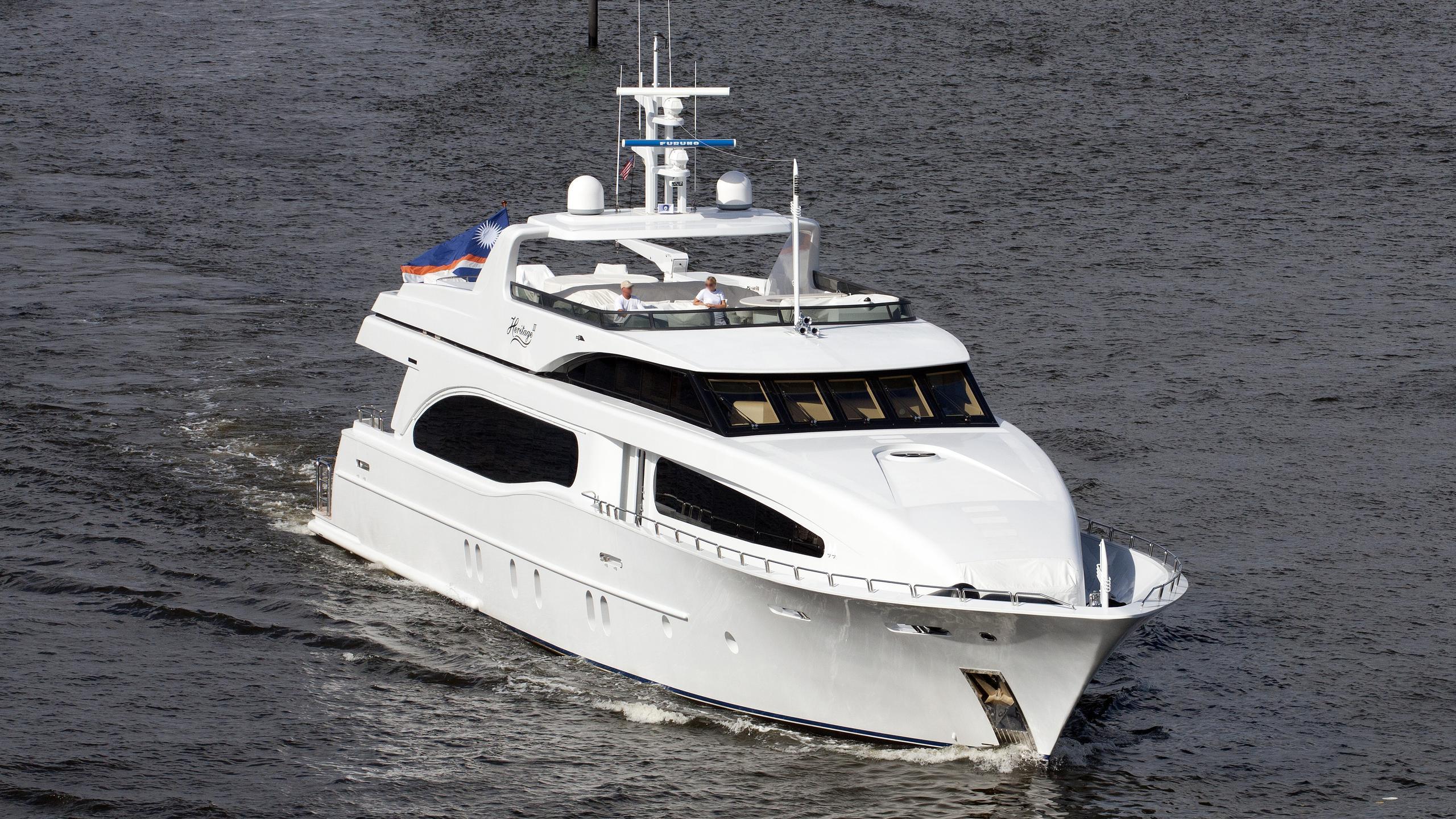 seament aquasition hi-banx motoryacht broward marine 2007 38m half profile