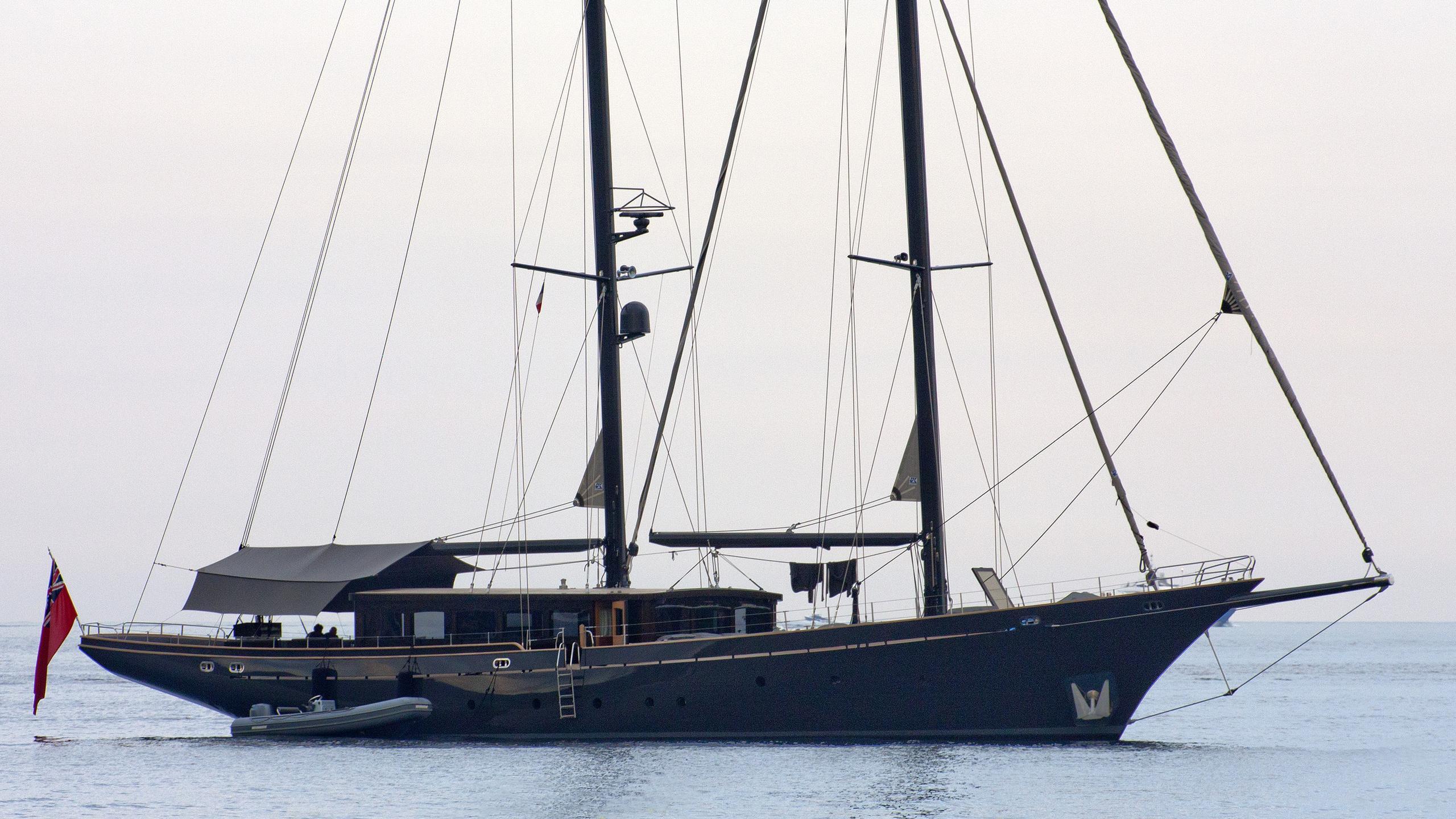 black-wood-yacht-exterior