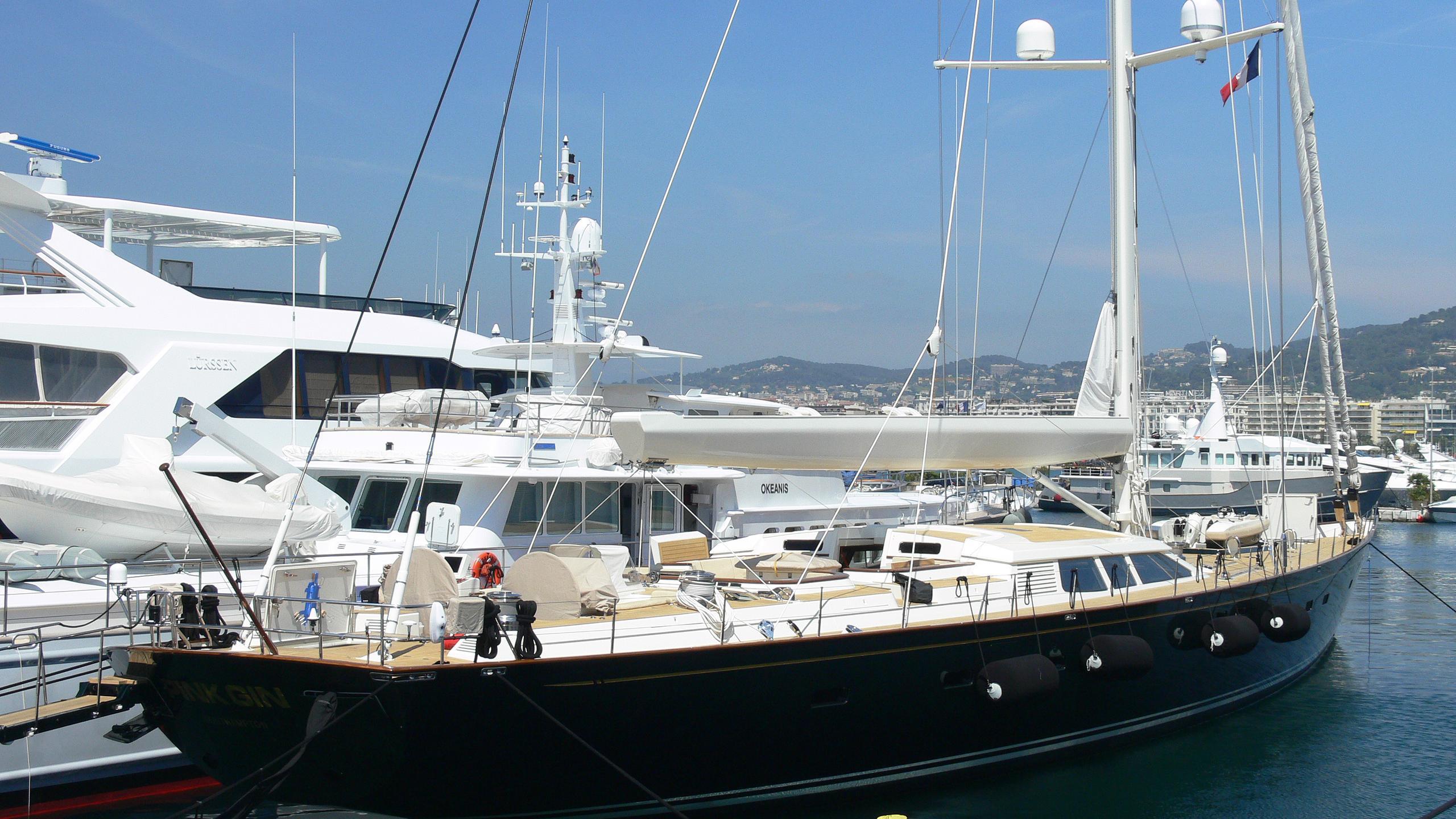 scorpione of london pink gin sailing yacht baltic yachts 46m 2006 half stern
