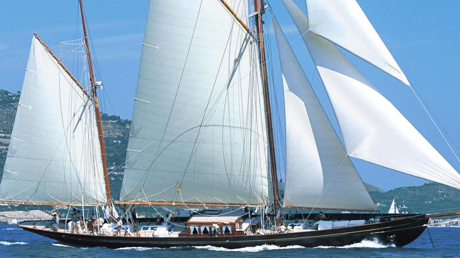 black-swan-yacht-running