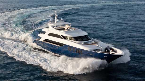 Super Yacht Ouranos exterior