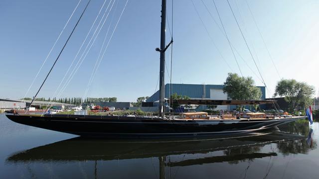sailing yacht lionheart exterior view