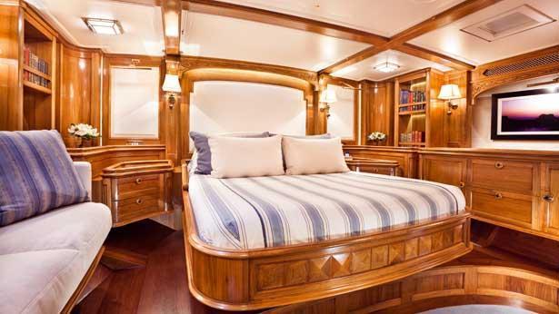 Super Yacht Hanuman master cabin
