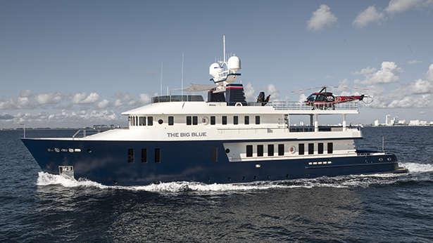 Super Yacht The Big Blue