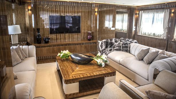Super Yacht Okko saloon