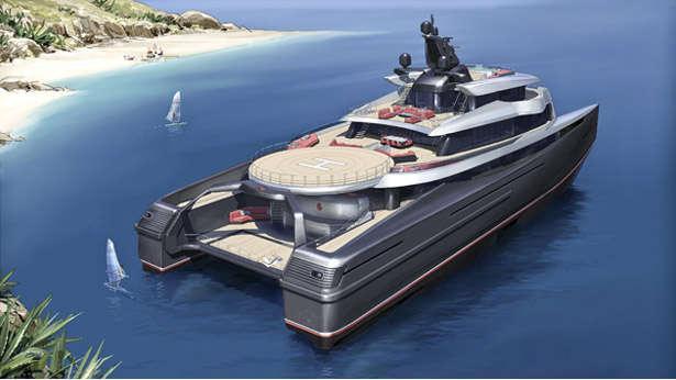 Super Yacht Silver Cloud