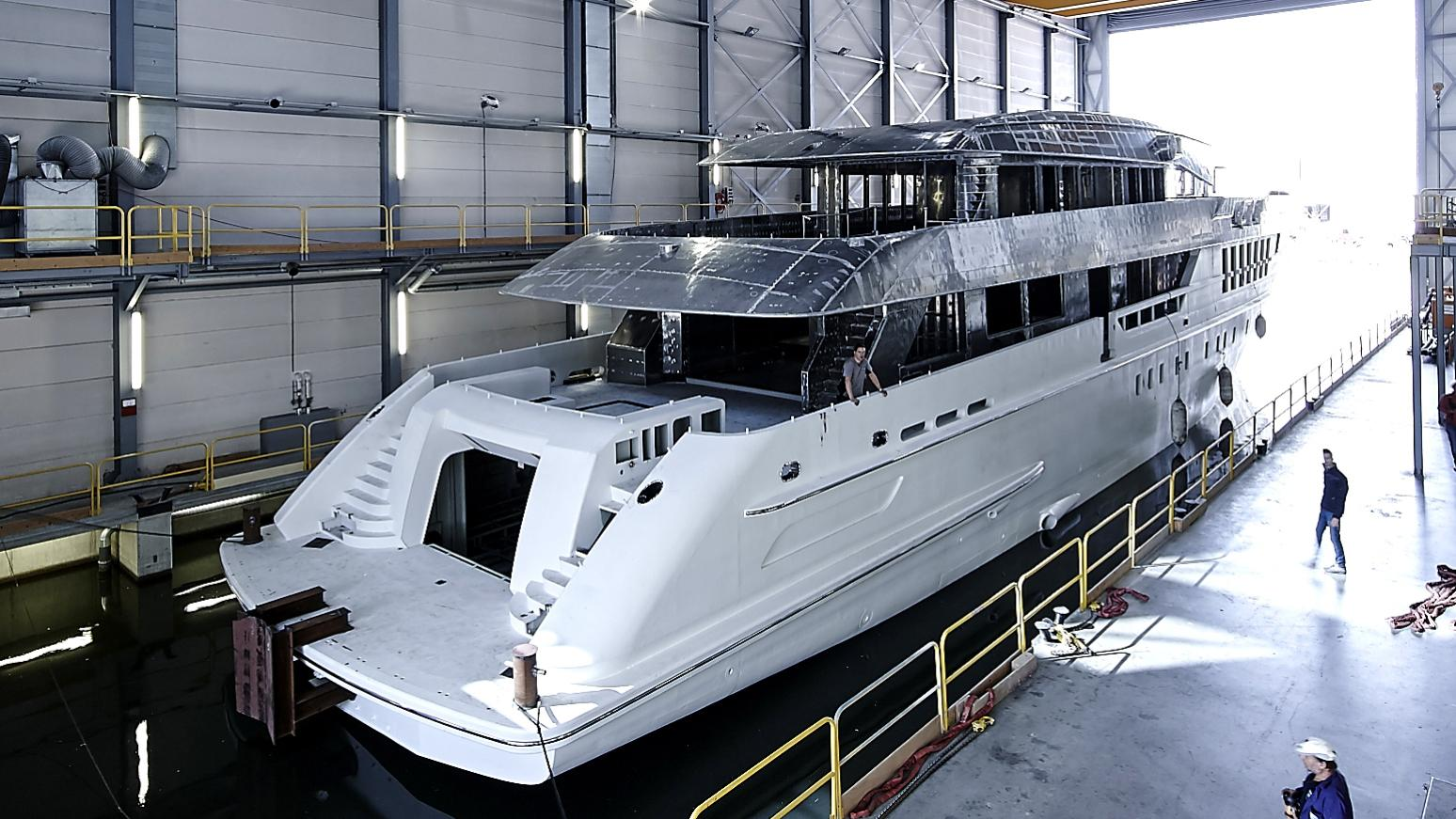 laurentia motoryacht heesen yachts project alida 55m 2017 under construction