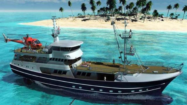 Super Yacht Balboa