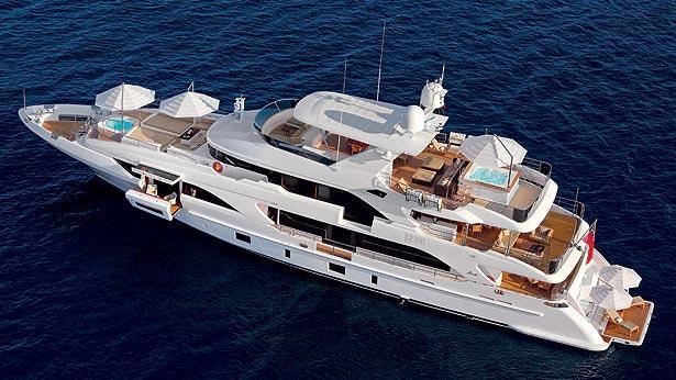 patience petrus ii motoryacht benetti 40m 2012 aerial