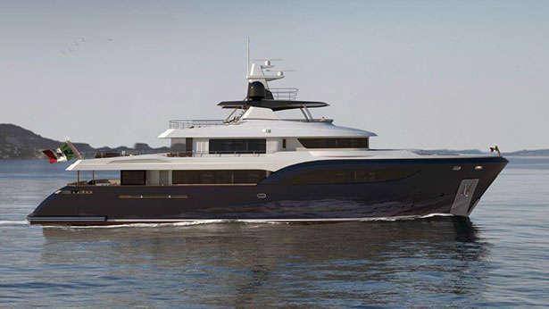 Super Yacht M40 Explorer