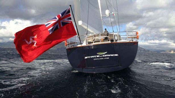 Sailing Yacht State of Grace aft swim platform