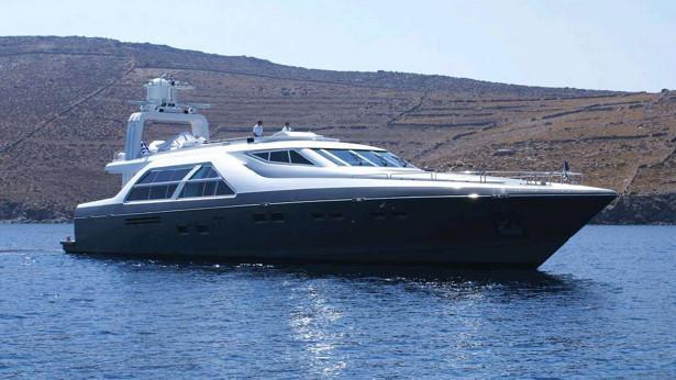 aquarella rospiya tiffany motoryacht devonport 42m 1995 half profile