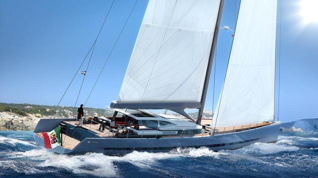 Sail Yacht Admiral Wave 38