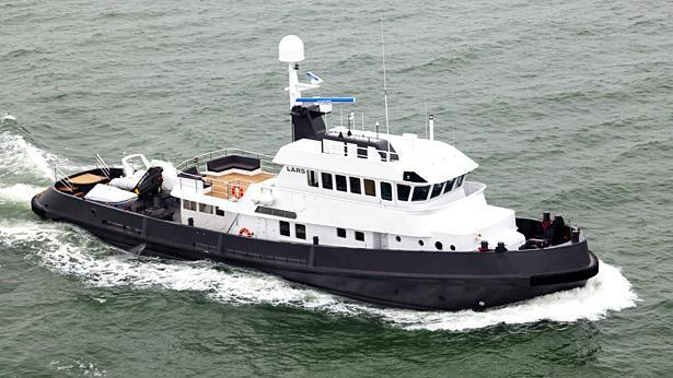 noorderzon lars motoryacht damen 36m 1995 half profile