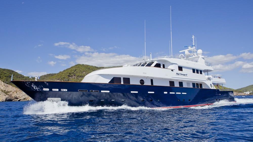 Big Change yacht