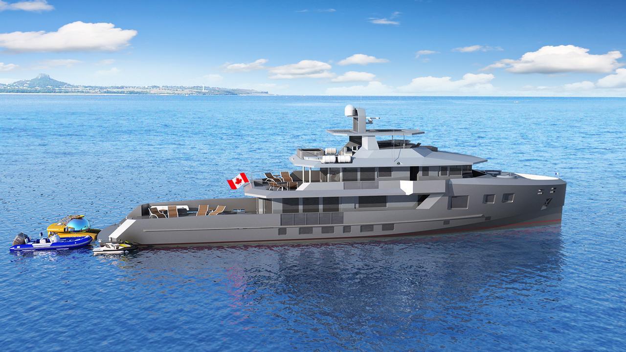 BRAY OCEAN ROVER 132 yacht for sale | Boat International