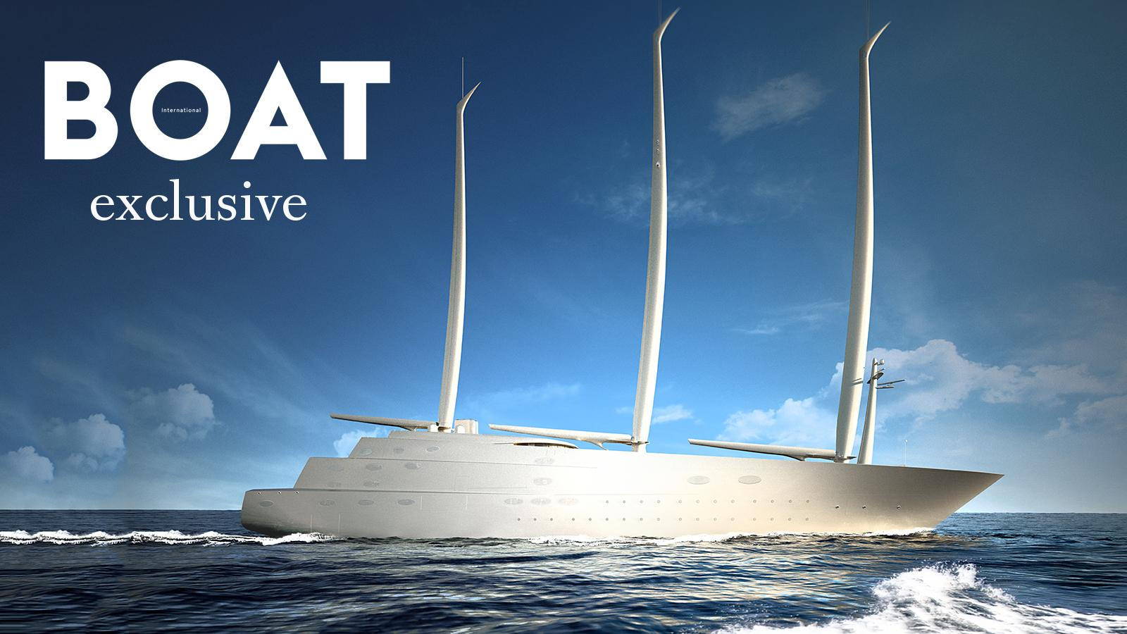 Another exclusive rendering of Sailing Yacht A