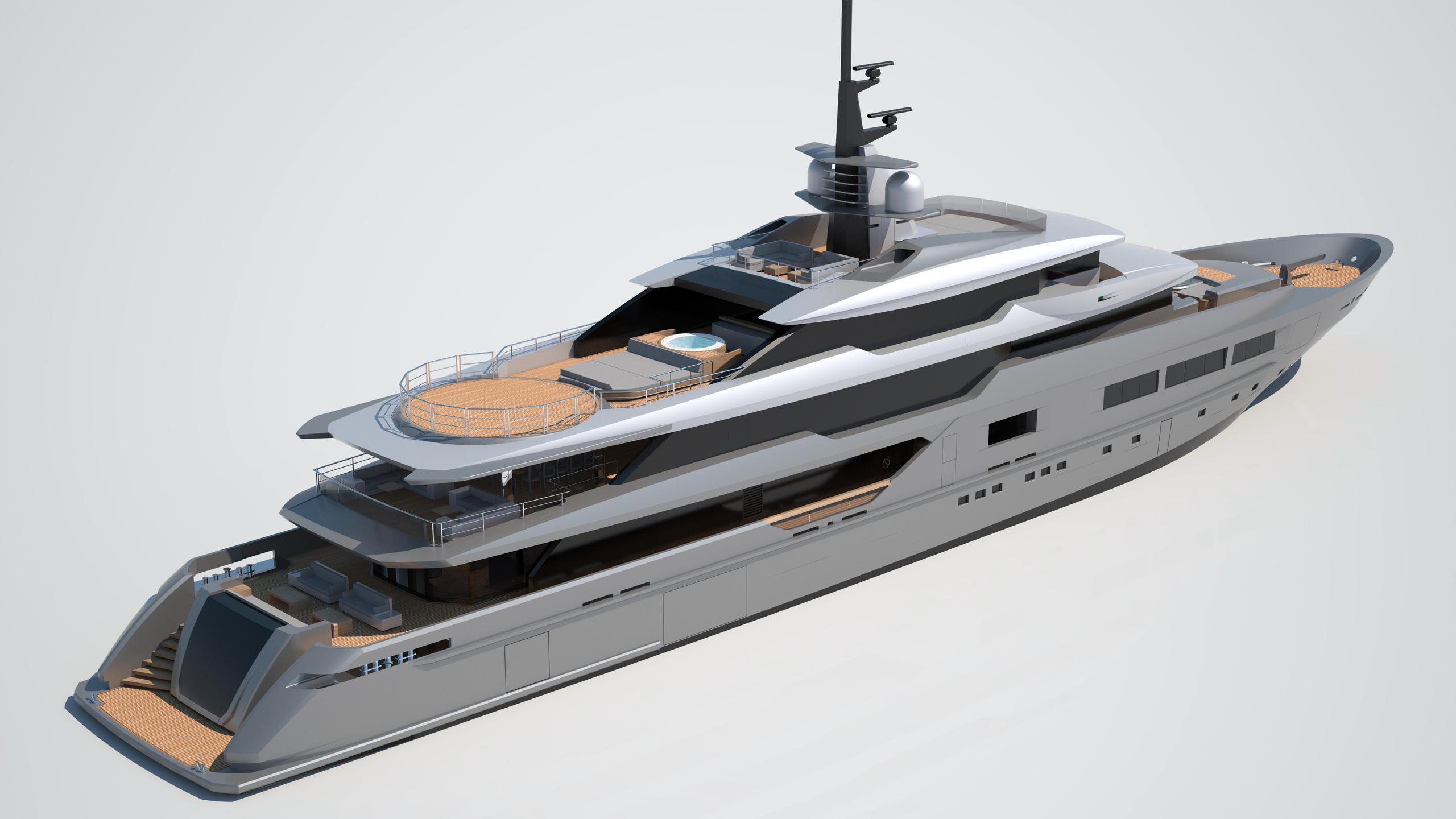 solo s701 motoryacht tankoa yachts 72m 2018 rendering