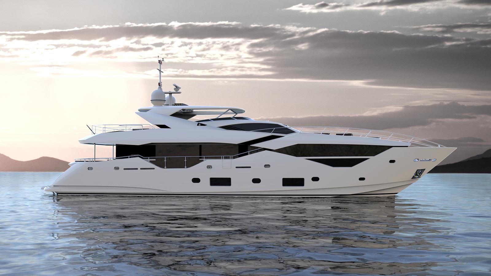 2js of london motoryacht sunseeker 116 35m 2017 rendering