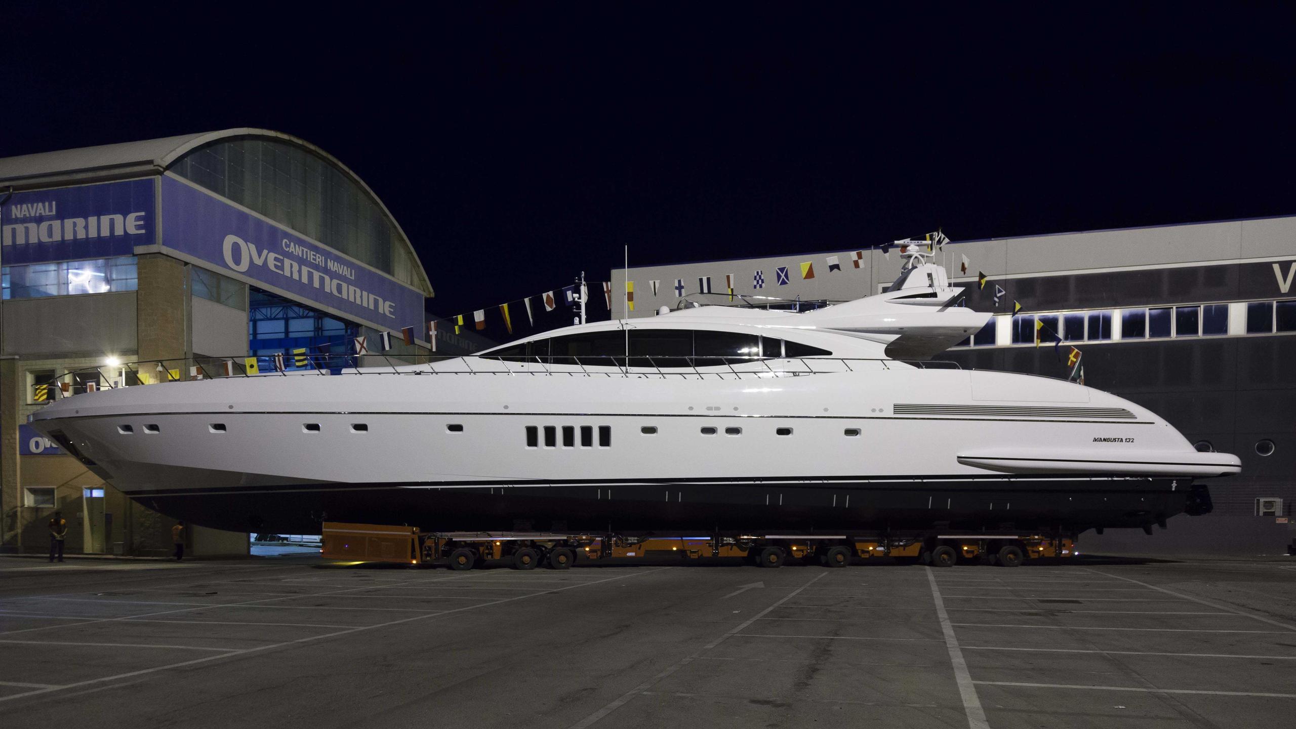asya motoryacht overmarine mangusta 132 2015 40m launch