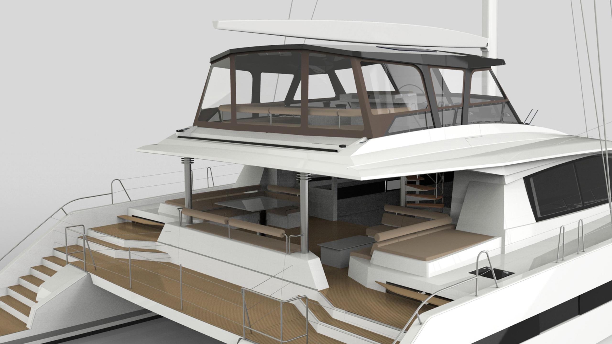 long island 85 hull 2 catamaran sailing yacht jfa yachts 26m 2017 sundeck rendering