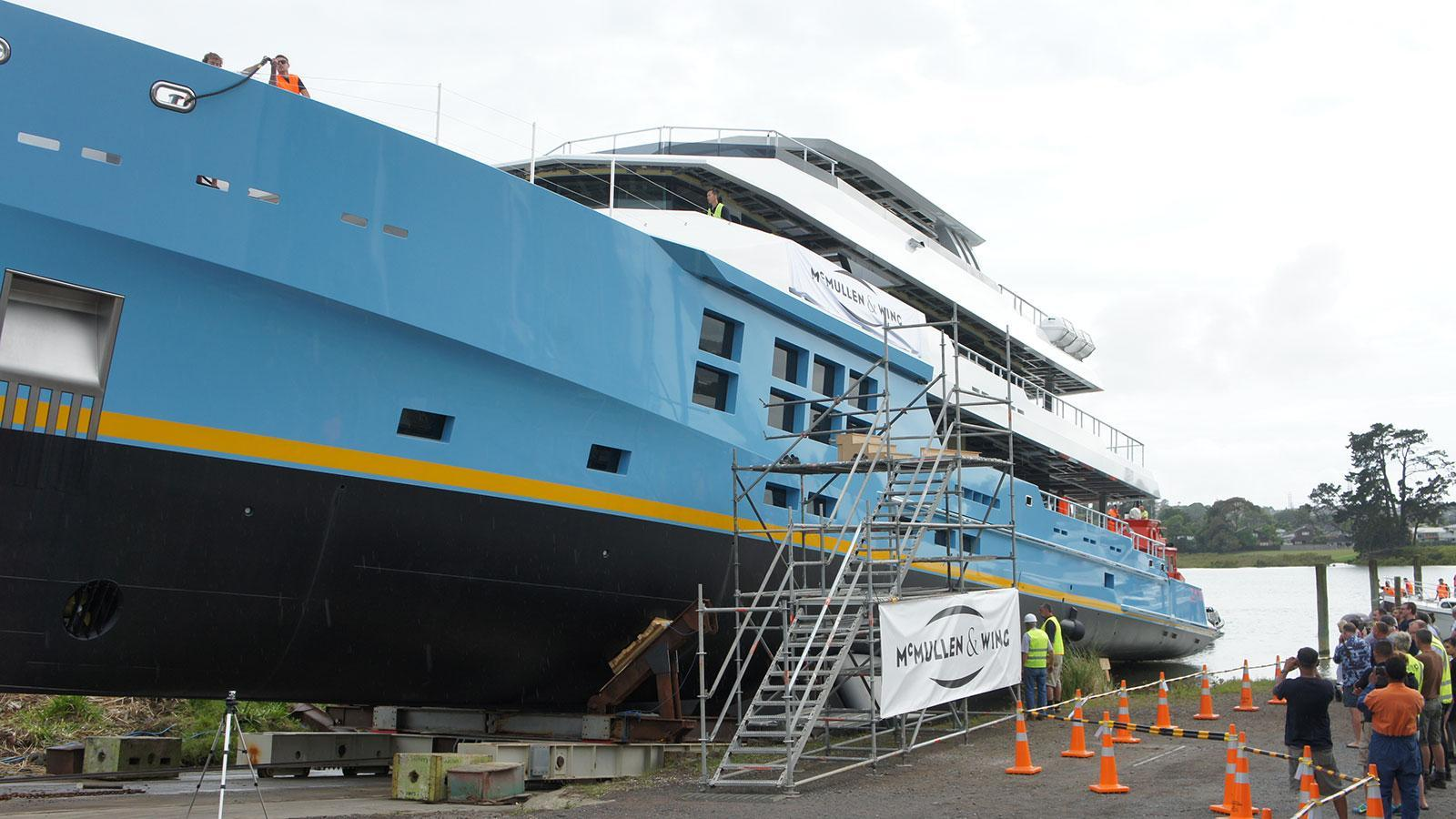 chirundos motoryacht mcmullen and wing 50m 2016 launch half profile
