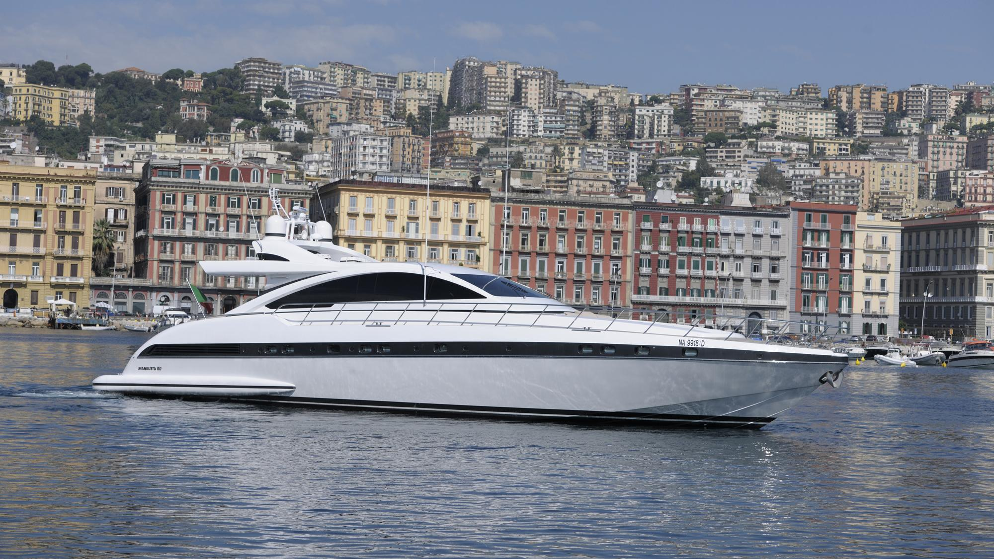Milu II, Overmarine motor yacht for sale at sea