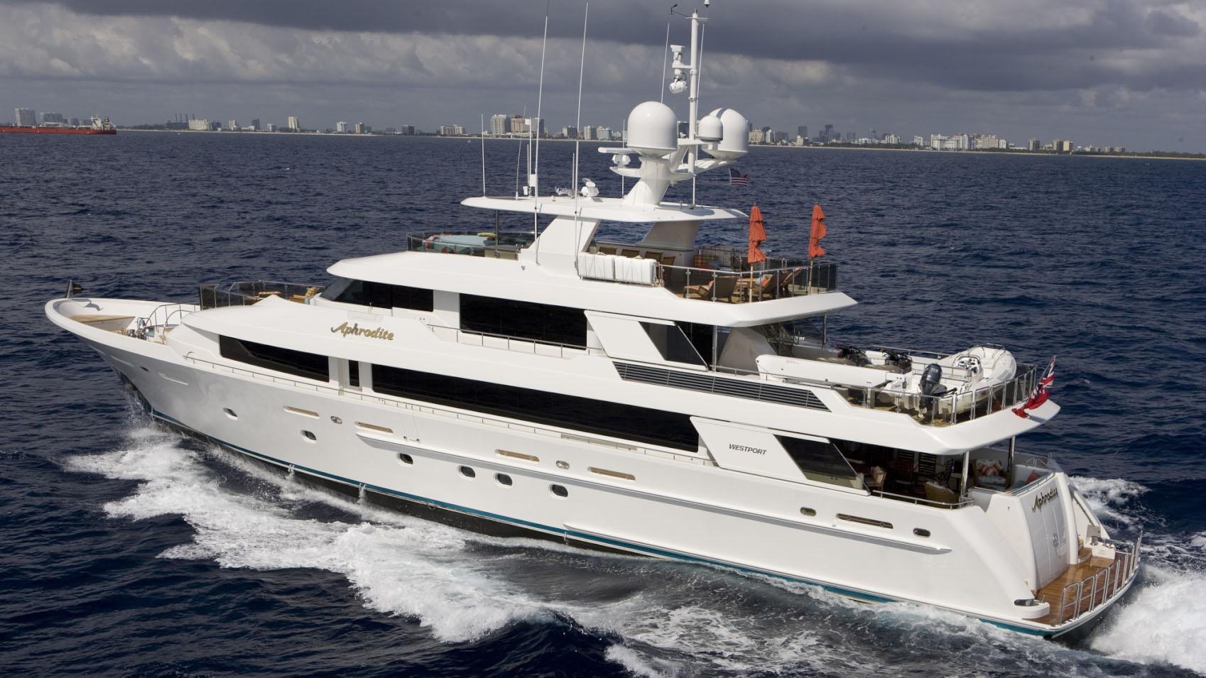 APHRODITE super yacht for sale profile