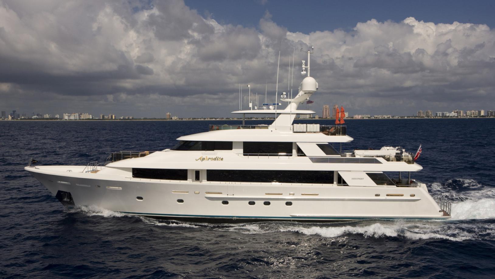 APHRODITE, westport super yacht