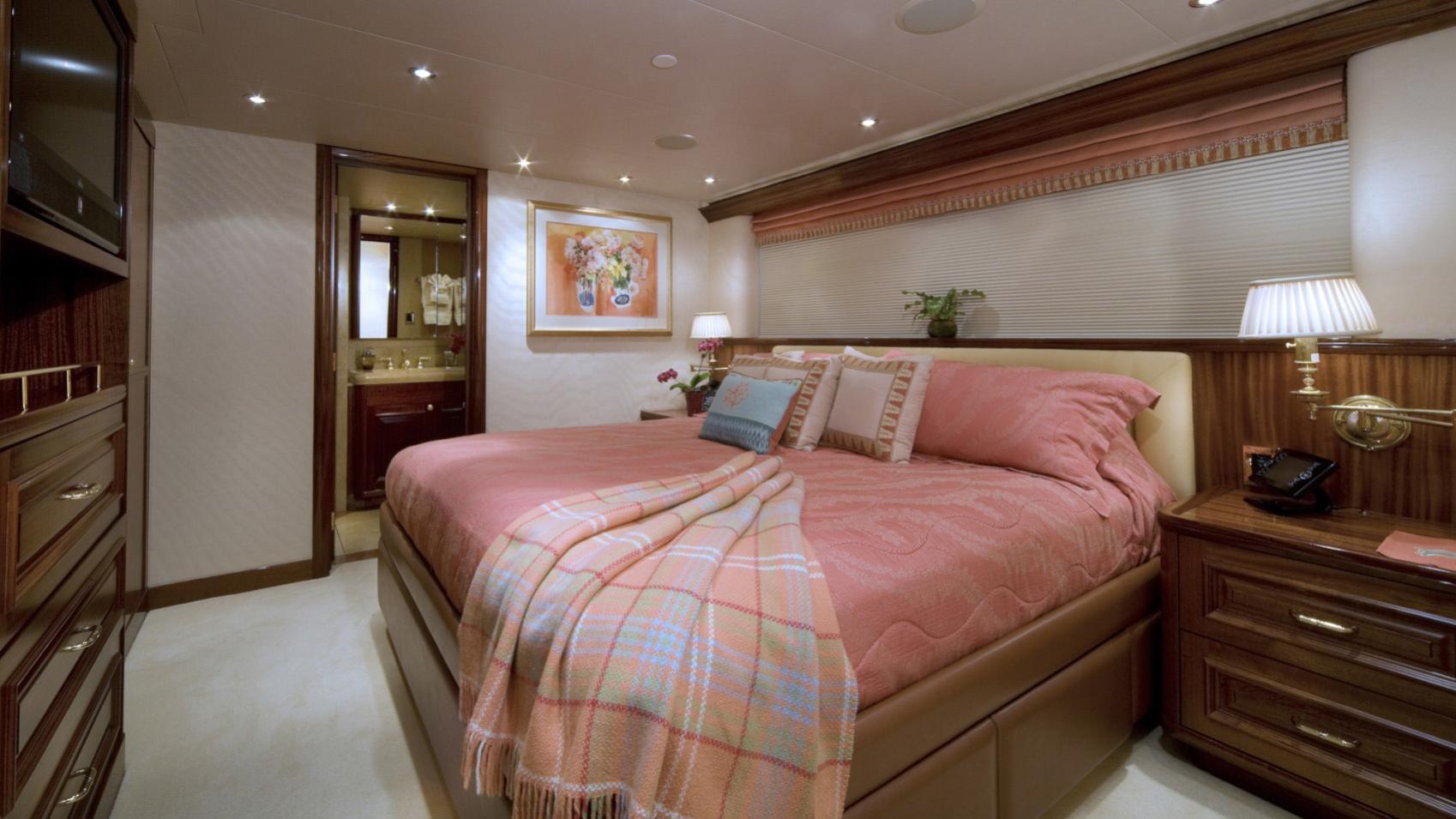 APHRODITE super yacht for sale vip cabin