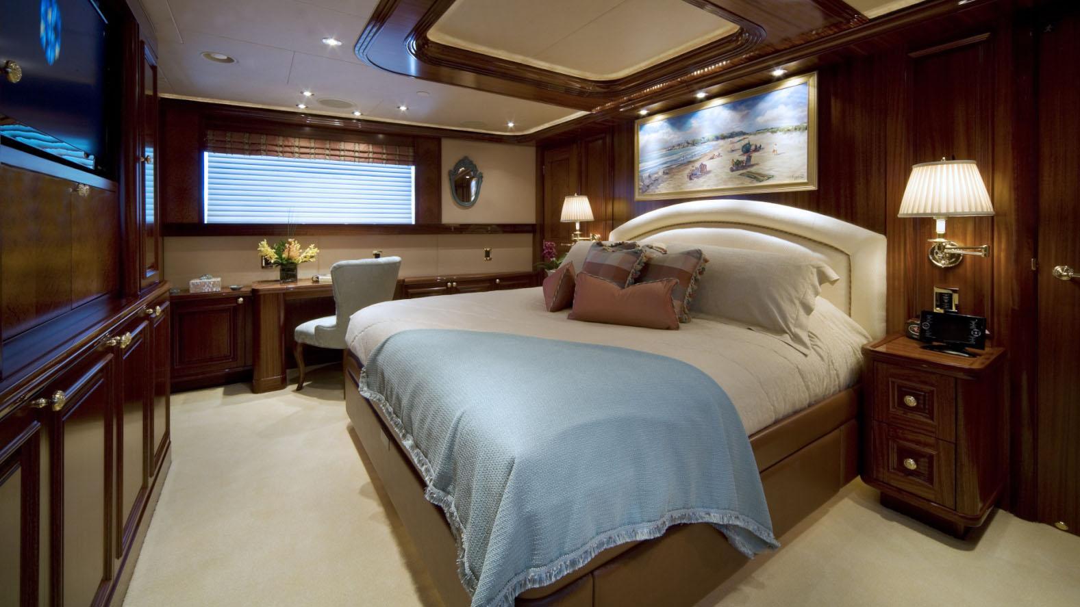 APHRODITE super yacht for sale master cabin