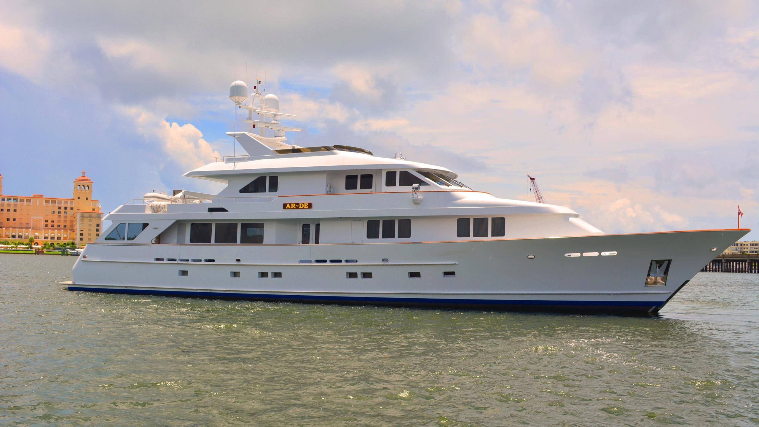 Ar De motor yacht for sale