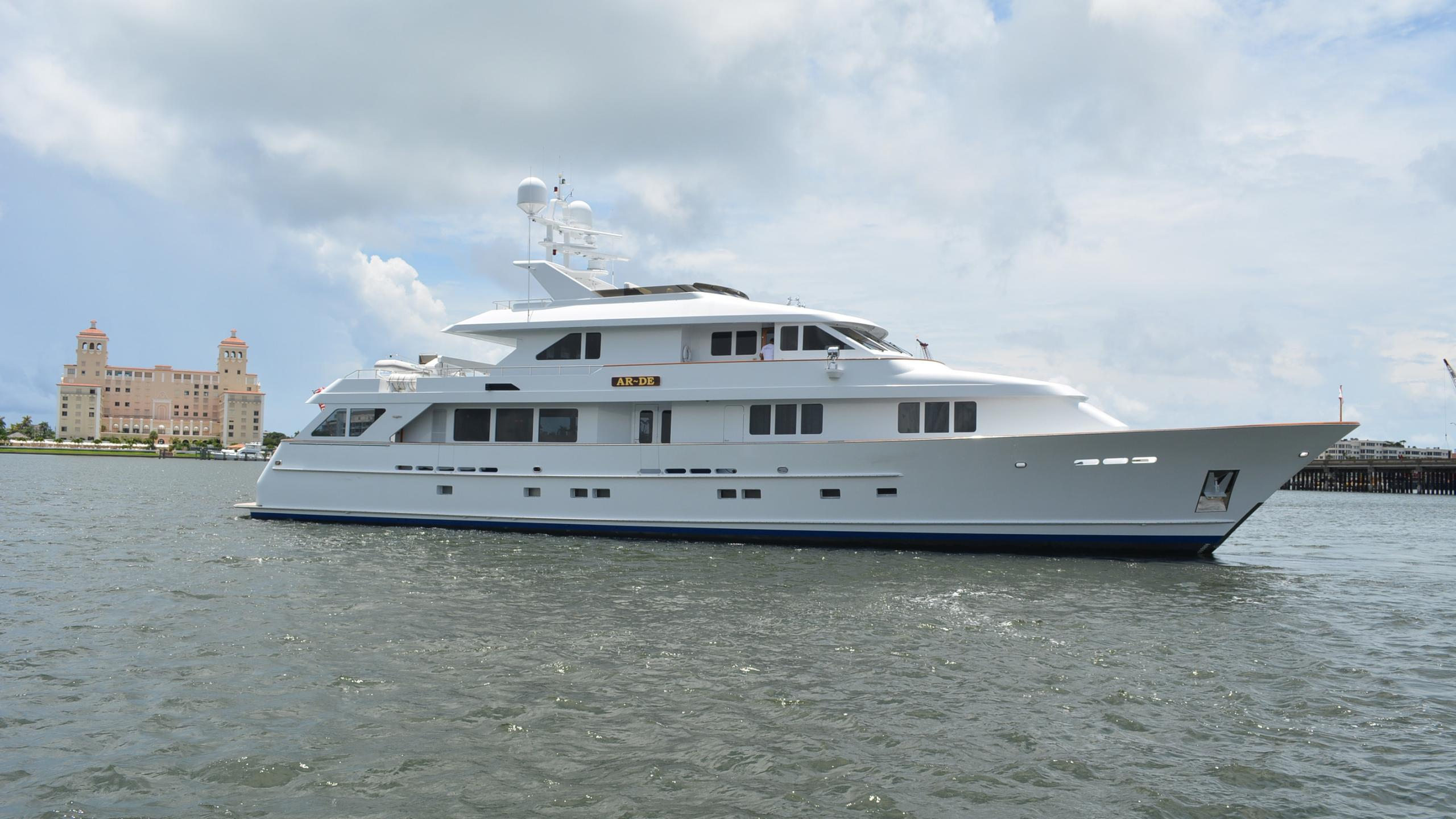 Ar De motor yacht for sale profile