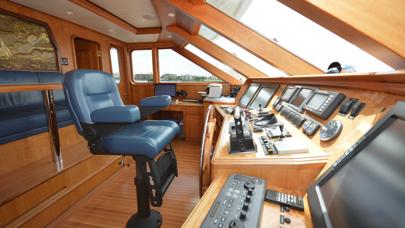 Ar De motor yacht for sale helm
