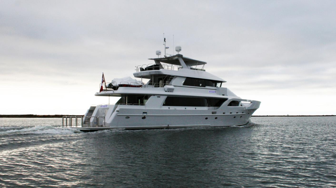 Encore motor yacht for sale