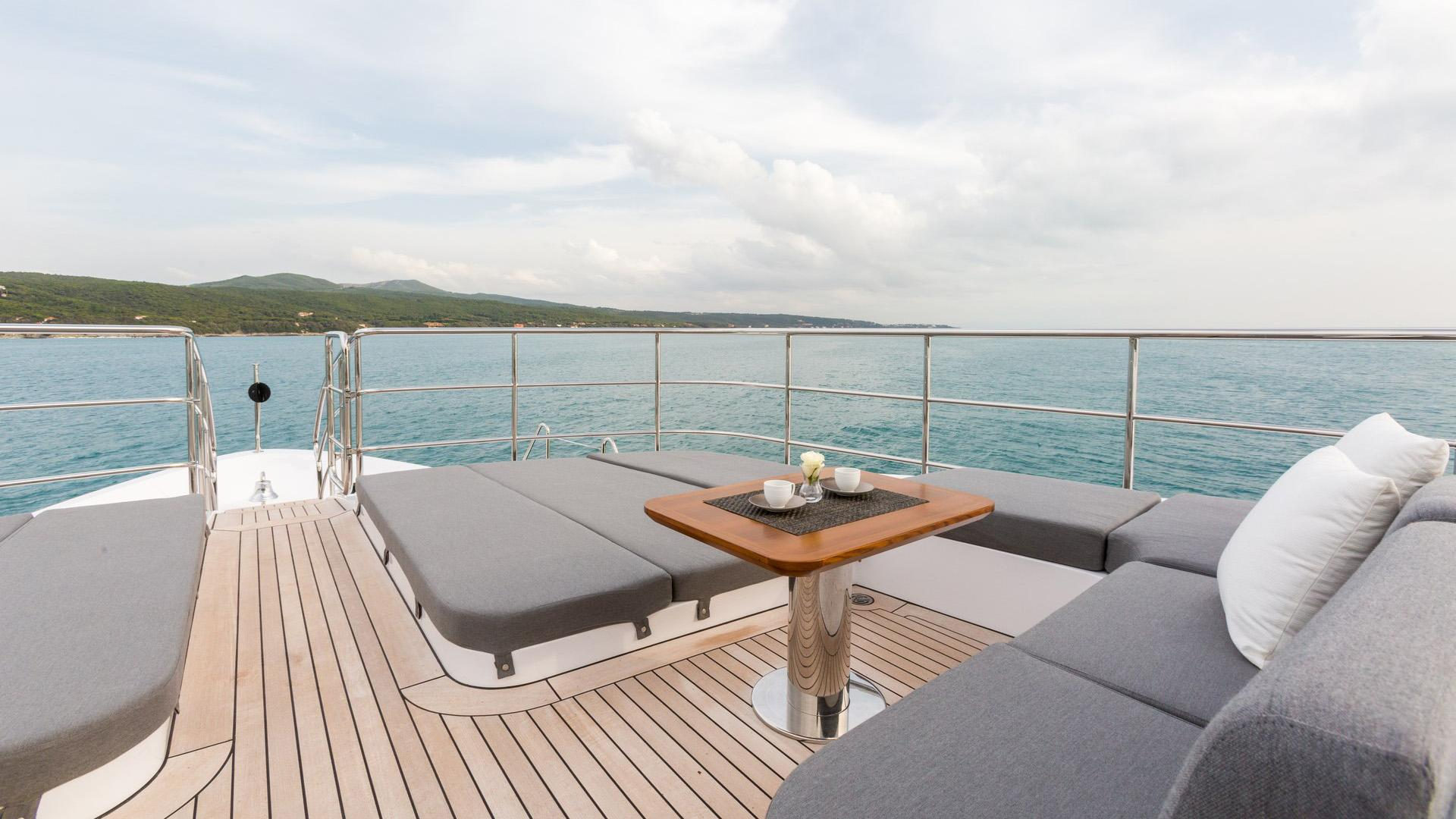 Edesia superyacht for sale deck