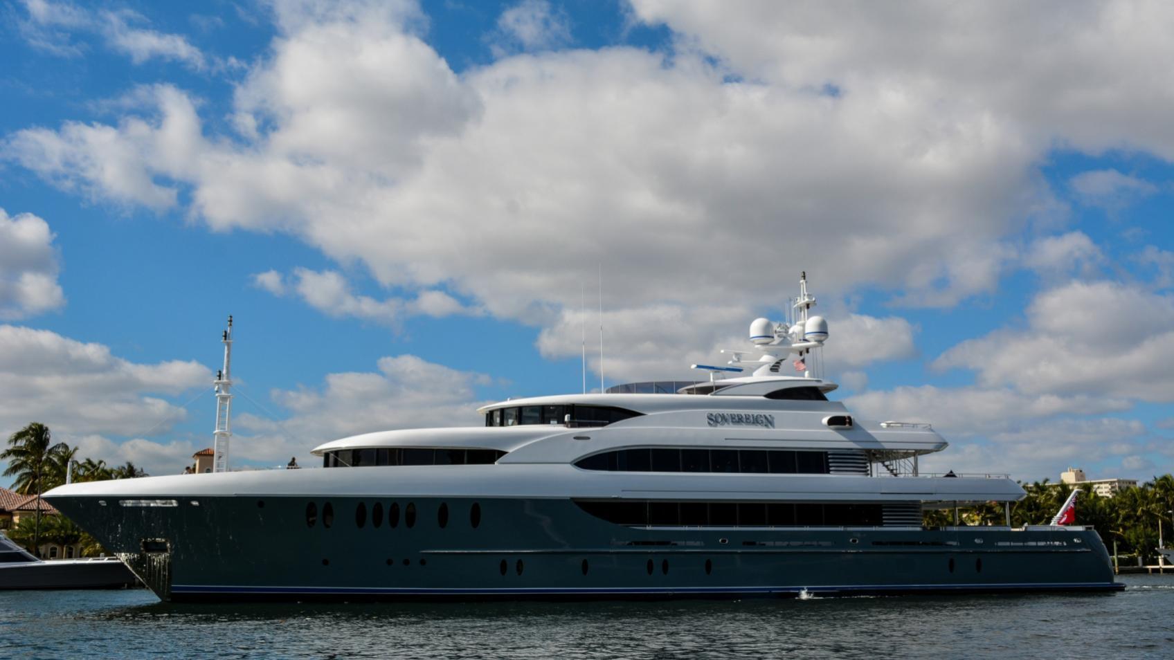 soverign motor yacht for sale