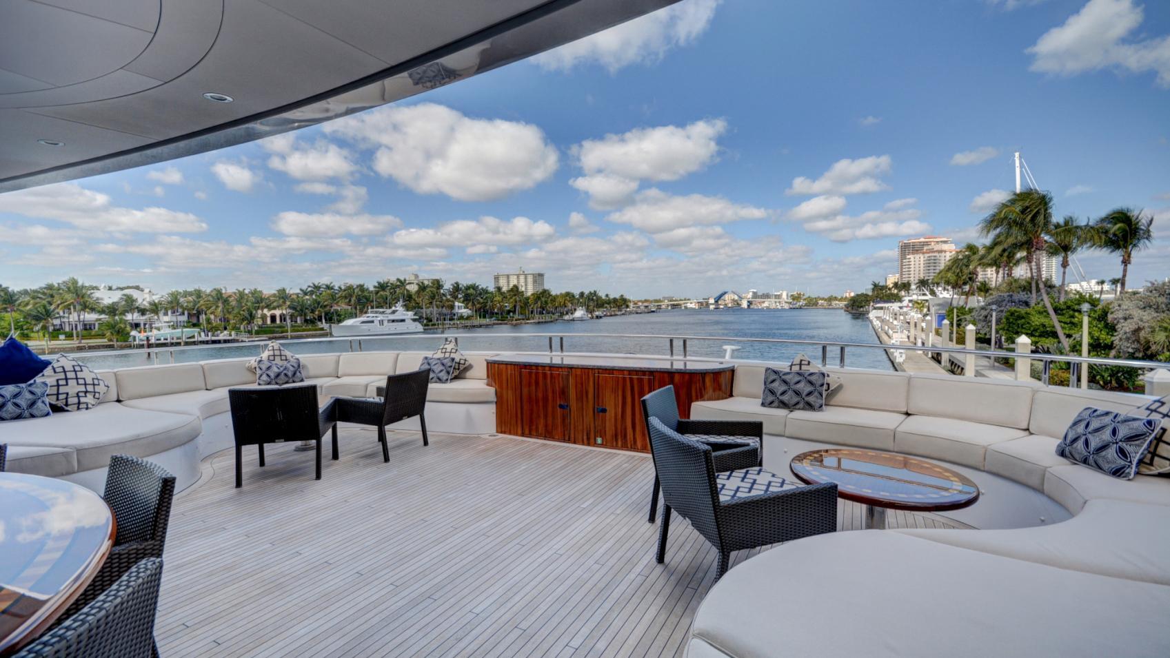 soverign motor yacht for sale aft