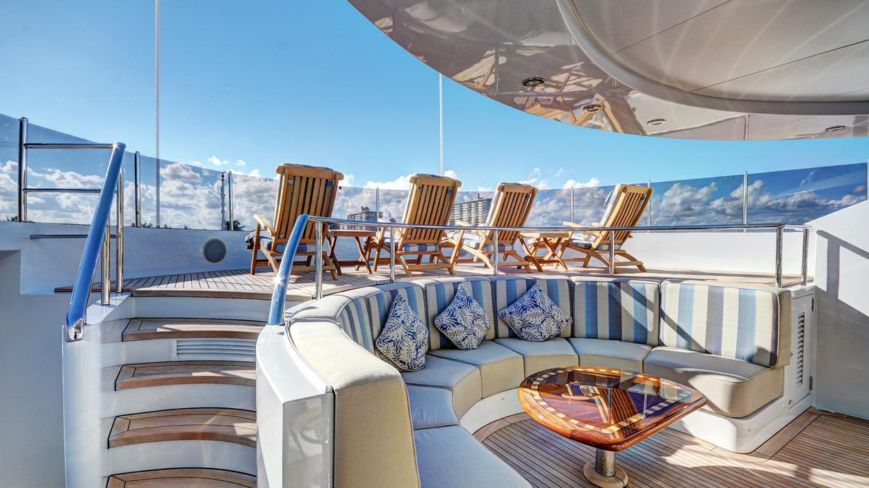 soverign motor yacht for sale sun deck
