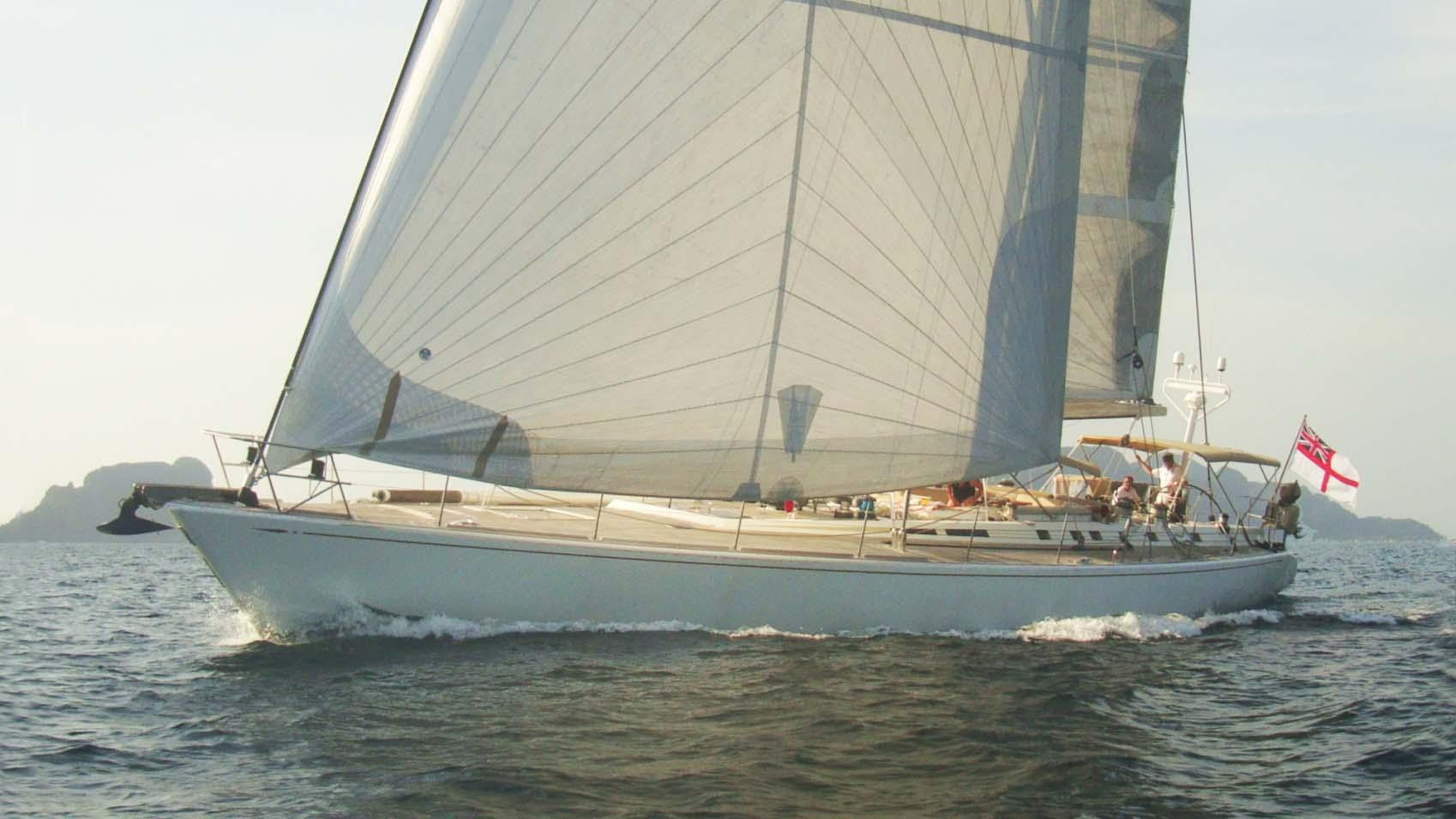 ASPIRATION sailing yacht cruising