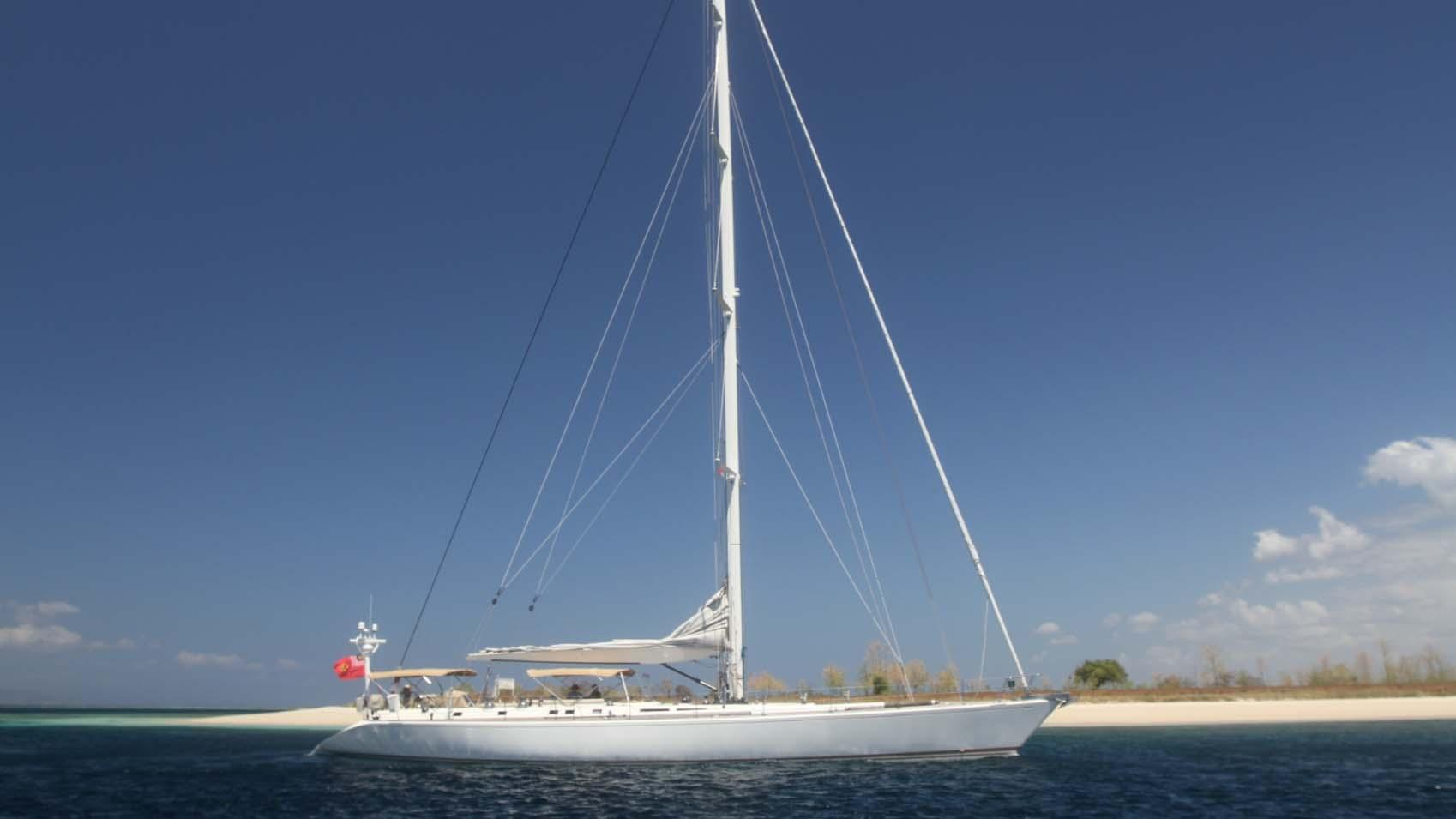 ASPIRATION sailing yacht profile