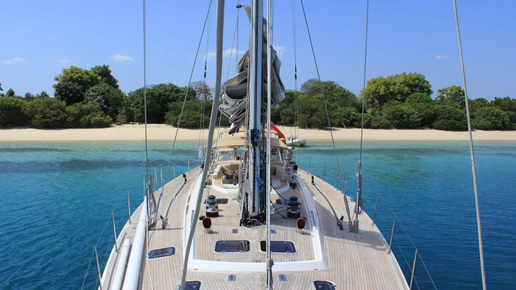 ASPIRATION sailing yacht deck